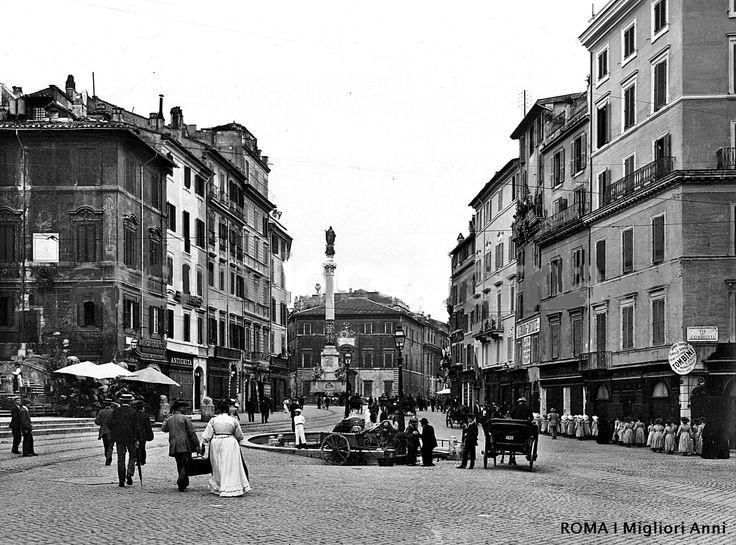 Piazza di Spagna 1908