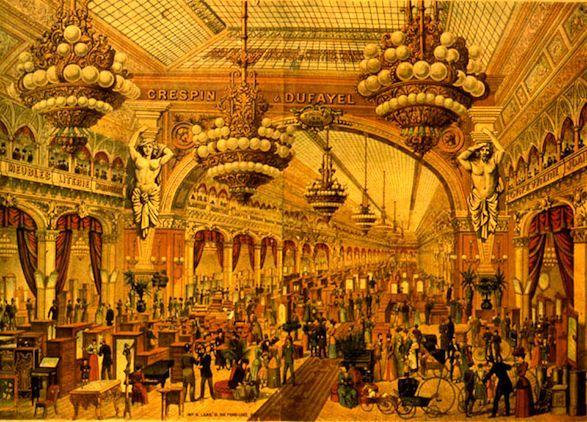 Paris Past: Les Grands Magasins Dufayel