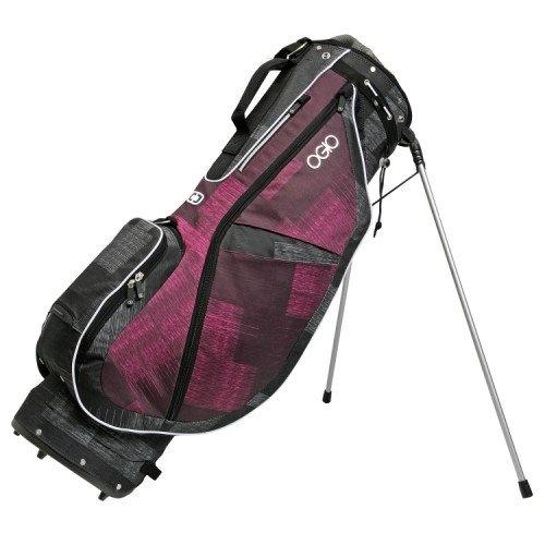 OGIO Featherlite Luxe Golf Bag (Honeysuckle/Weave). details at http://youzones.com/ogio-featherlite-luxe-golf-bag-honeysuckleweave/