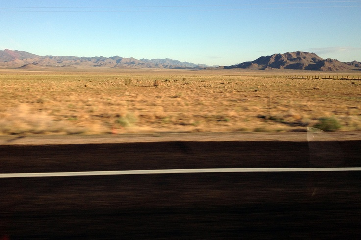 Driving to Las Vegas from California