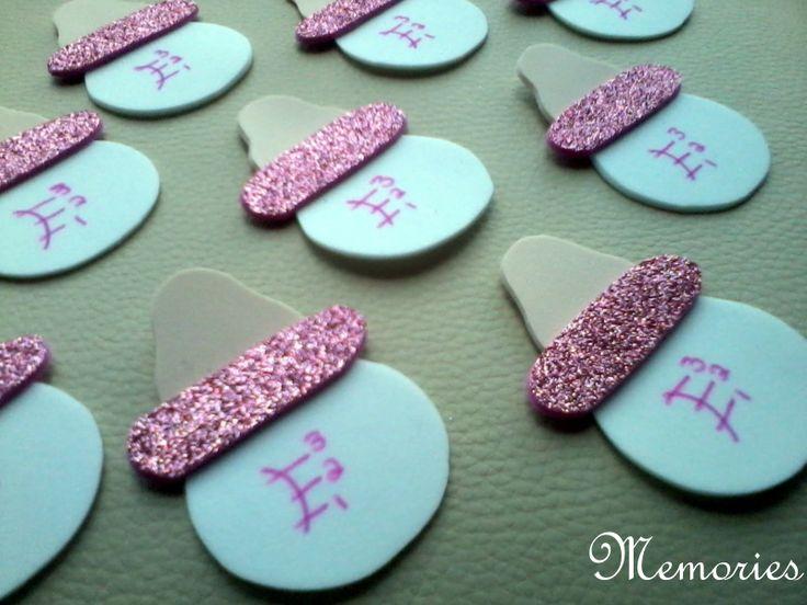 Distintivo para baby shower biberon rosa | Baby shower | Pinterest ...