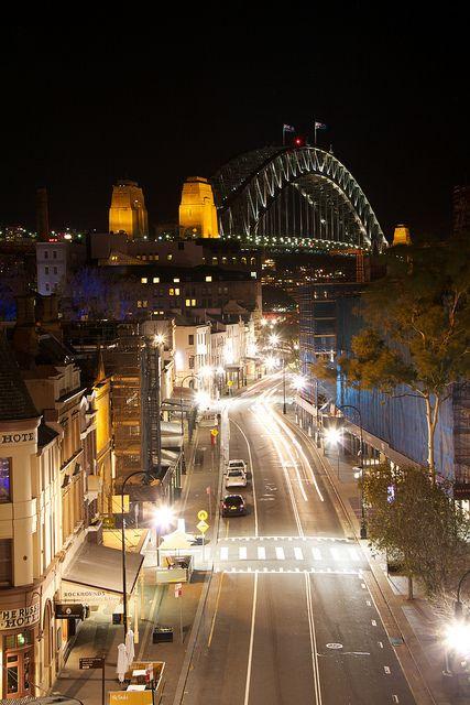 The Rocks and Harbour Bridge - Sydney
