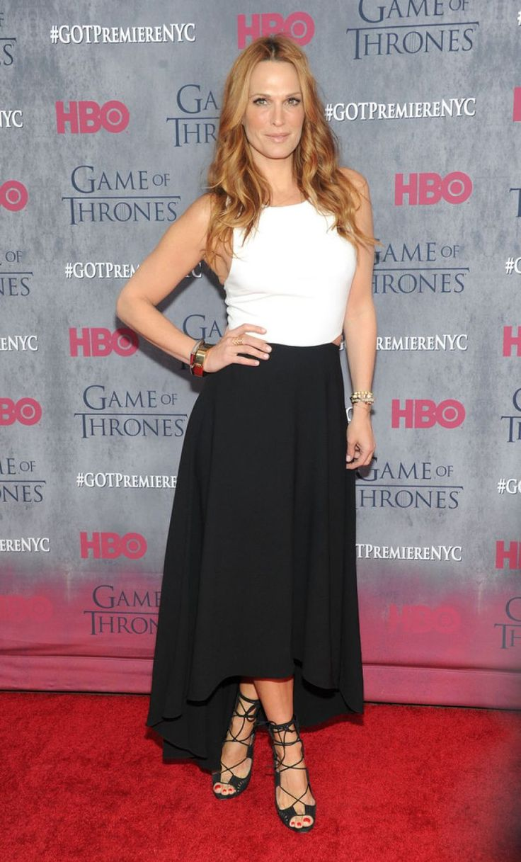 Molly Sims Wearing Alice + Olivia at 'Game of Thrones' Season 4 Premiere in New York City - April 2014