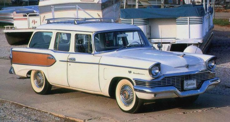 1957 Studebaker Broadmoor Station Wagon
