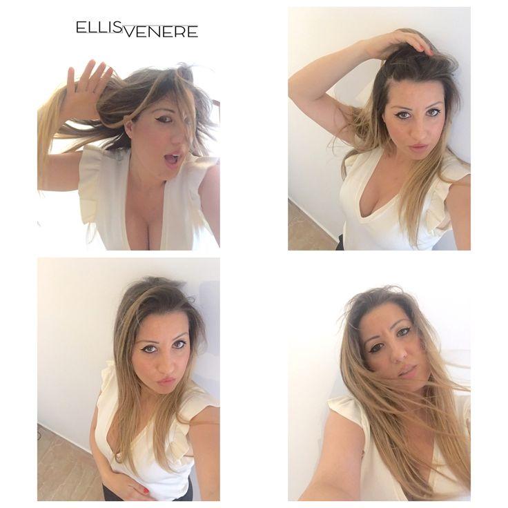 Va bene è lunedì e allora?!? #t-shirtbalze @hm #outfit #ellisvenere #fashionblogger #imageconsultant