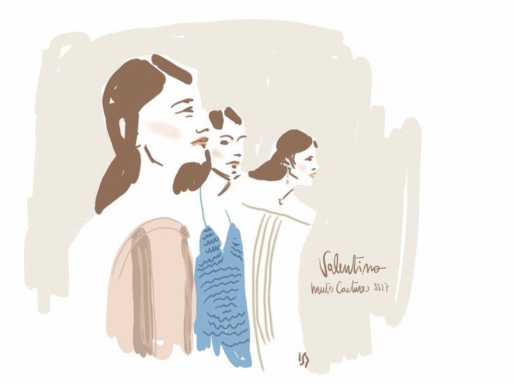 Valentino HC17 fashion illustration by Open Toe