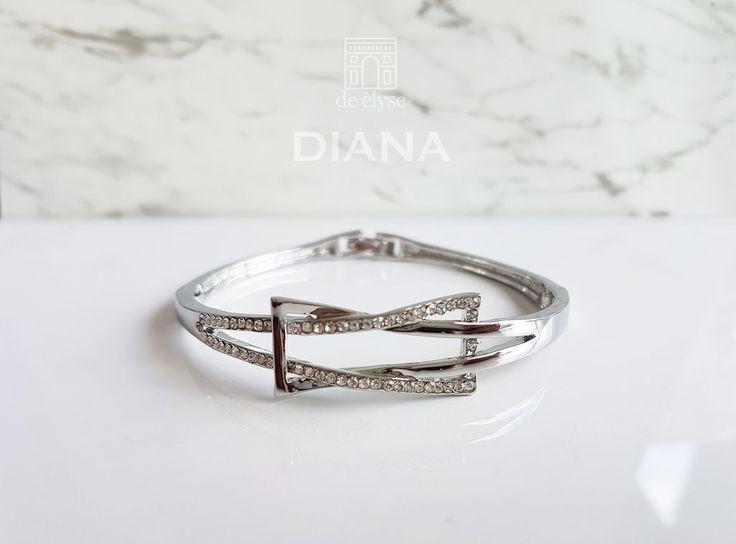 Diana Silver Bangle
