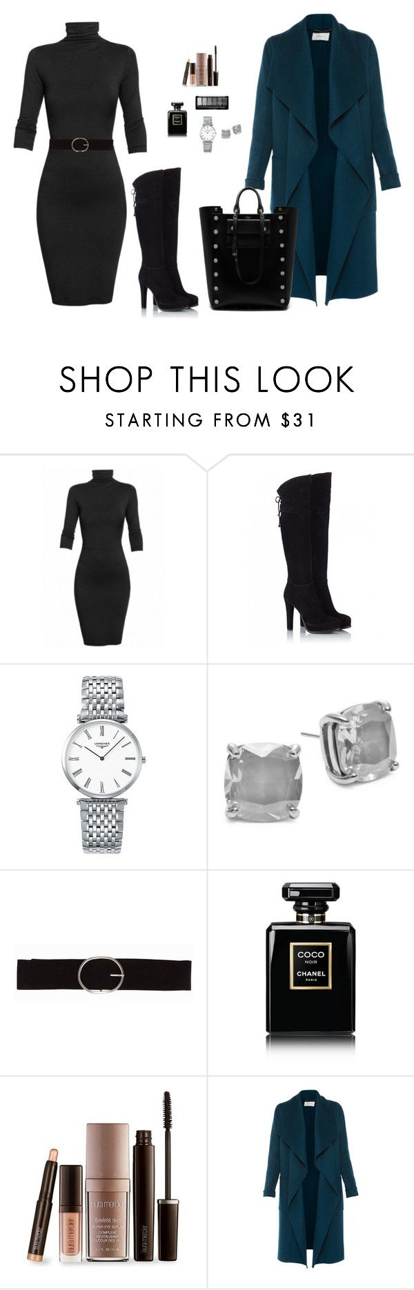 """Office look"" by monika1555 on Polyvore featuring Undress, Fratelli Karida, Longines, Kate Spade, Vero Moda, Chanel, Laura Mercier, L.K.Bennett and Mulberry"