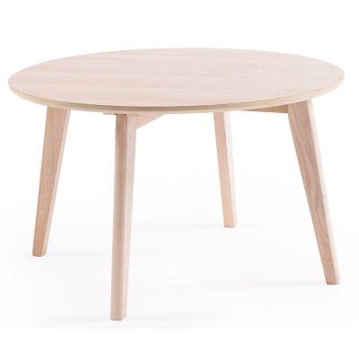 Look 80 soffbord från Department. Ett skandinaviskt och stilrent soffbord i vitpigmenterad ek s...