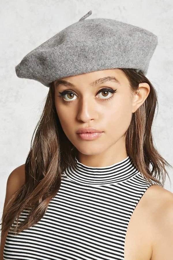 227d68f6594e1 Forever 21 Wool Beret