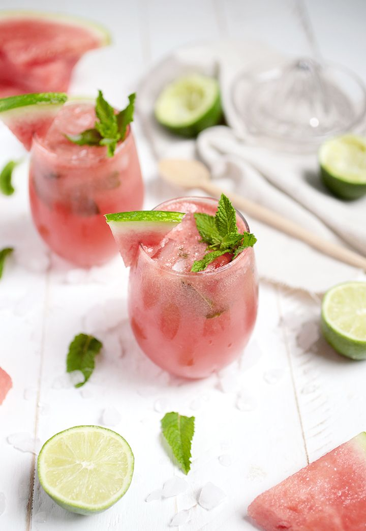 Watermelon Mojito Mocktail @themerrythought
