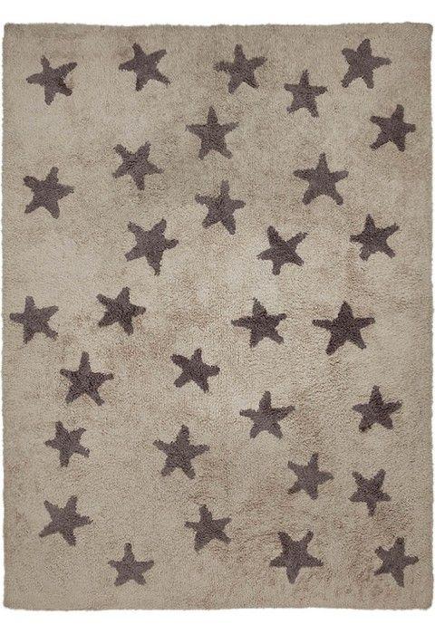 Stars Messy Linen-Grey