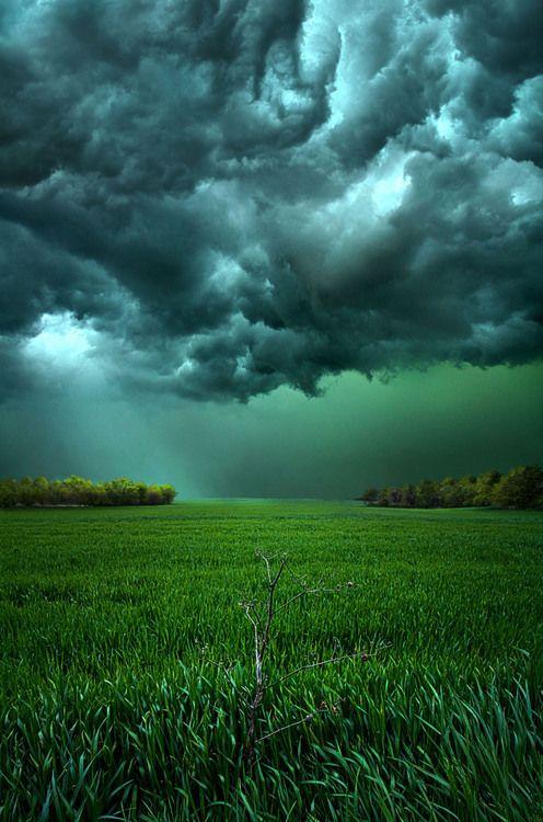 Approaching Storm, Marshfield, Wisconsin