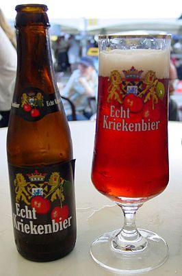 Brouwerij Verhaeghe - Echt Kriekenbier(Sour/ Wild Cherry ale) 6,8% pullo