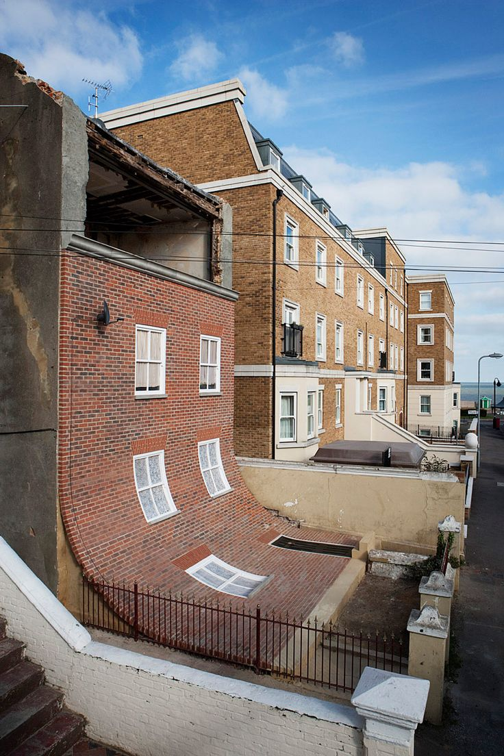 from the knees of my nose to the belly of my toes - margate - alex chinneck - photo stephen o'flaherty