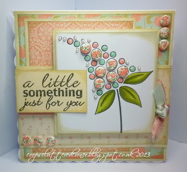 Exceptional Stamps For Card Making Ideas Part - 12: Today I Have This Card To Share With You, Using The Woodware Bubble Bloom  Clear Stamp Which Includ.