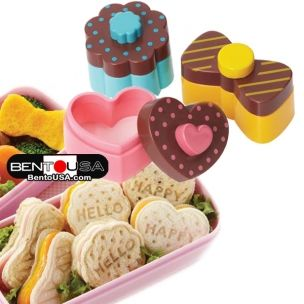 This Bow really ROCKS!!!! Japanese Bento Sandwich Cutter Sweet  Bow