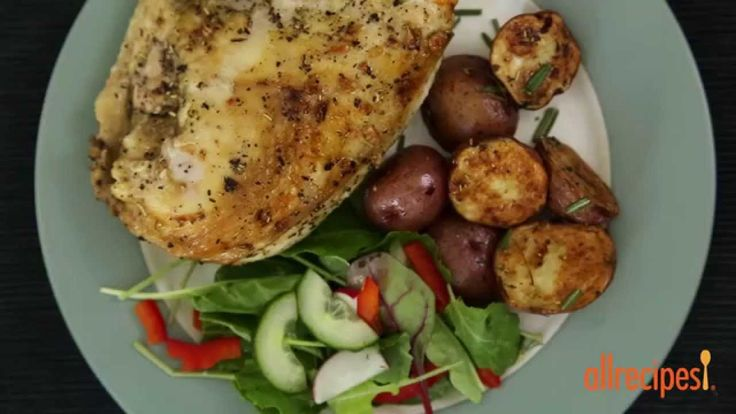 Chicken Recipes - How to Make Baked Split Chicken Breast