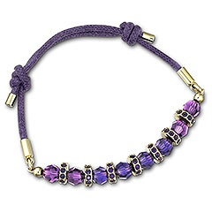 Polly Purple Bracelet