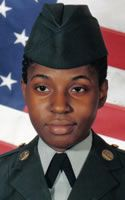 Army Sgt. Julia V. Atkins  Died December 10, 2005 Serving During Operation Iraqi Freedom  22, of Bossier City, La.; assigned to the 64th Military Police Company, 720th Military Police Battalion, 89th Military Police Brigade, Fort Hood, Texas; killed Dec. 10 when an improvised explosive device detonated near her Humvee during patrol operations in Baghdad.