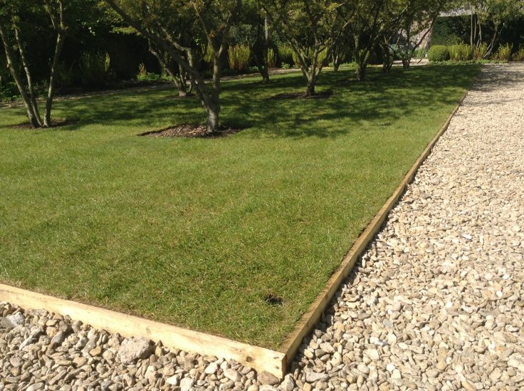 Completed lawn