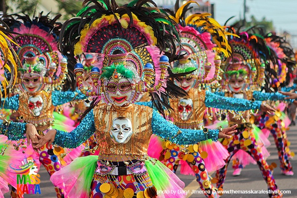 DANCES - Masskara Festival, Bacolod City Philippines