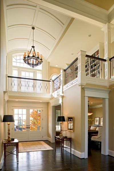 Open Foyer Images : Ideas about two story foyer on pinterest
