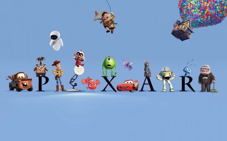 Pixar is a public animation company. They produce the most popular animation movies in the world. All of their movies are suitable for all different ages.