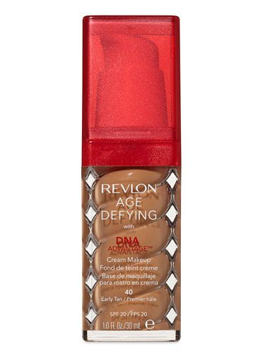 Foundation Silver Winner: Medium to Full Coverage: Revlon Age Defying with DNA Advantage Cream Makeup SPF 20