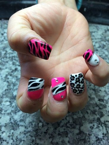 Acrylic nails by tommy61364 from Nail Art Gallery