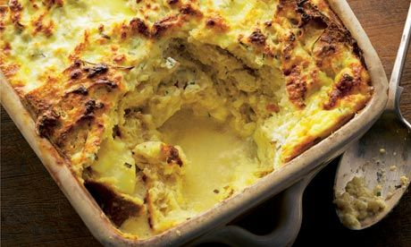 ottolenghi ricotta and rosemary bread pudding