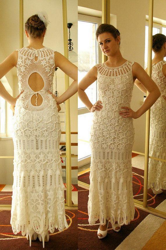 110+ Örgü Bayan Elbise Modelleri ,  #örgübayanelbise #örgübayangiyim…
