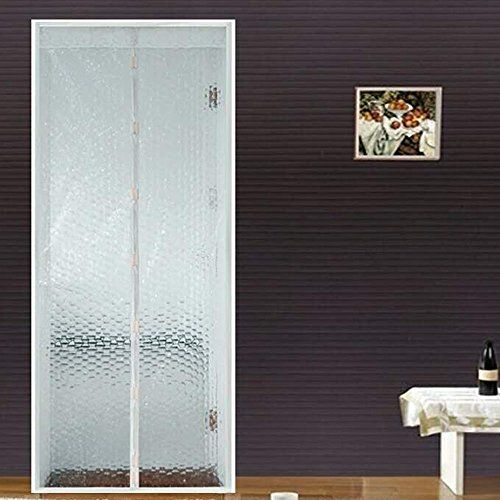 Flyzzz Magnetic Screen Door Curtain, Prevent Air Conditioning Loss ,Enjoy Cool Summer & Warm Winter,Thermal and Insulated Auto Closer Door Curtain (Fits Doors Up to 35.43x82.67 Inches, Creamy White) #Flyzzz #Magnetic #Screen #Door #Curtain, #Prevent #Conditioning #Loss #,Enjoy #Cool #Summer #Warm #Winter,Thermal #Insulated #Auto #Closer #Curtain #(Fits #Doors #Inches, #Creamy #White)
