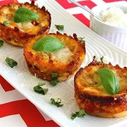 Lasagna Cupcakes - Allrecipes.com