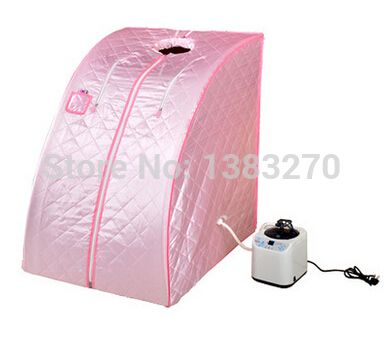 cost-efficient sauna cabin sauna box steamer fat burning and body slimming portable steam sauna room (Chair included)