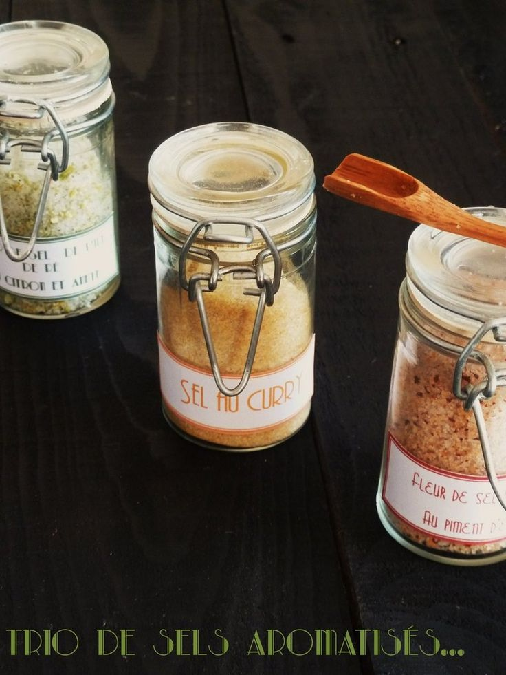 Assortiment de sels parfumés