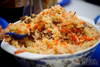 Receita de Arroz pilaf em receitas de arroz, veja essa e outras receitas aqui!