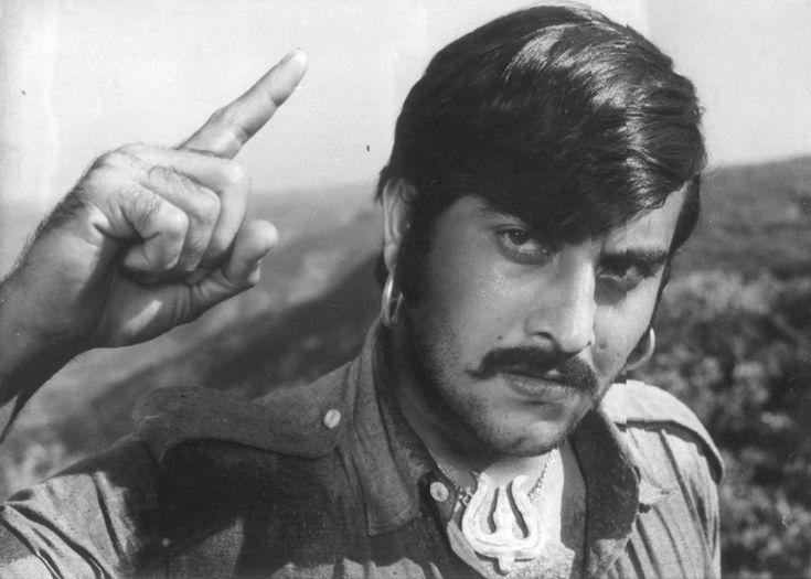 This man was once a villain  (Vinod Khanna)