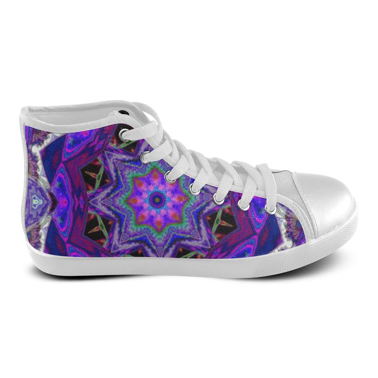 Indi Go Women's High Top Canvas Shoes (Model 002)