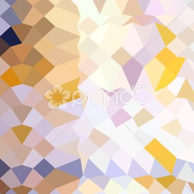 Stock Illustration of Hansa Yellow Abstract Low Polygon Background