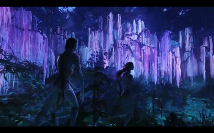 avatar paisaje nocturno