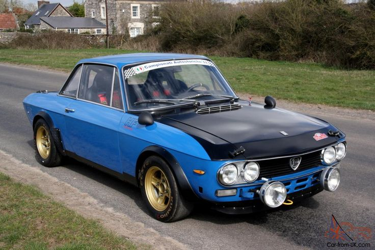 1972 LANCIA FULVIA MONTECARLO GR.4 Prepared Rally/Race Car with HTP Papers  Photo