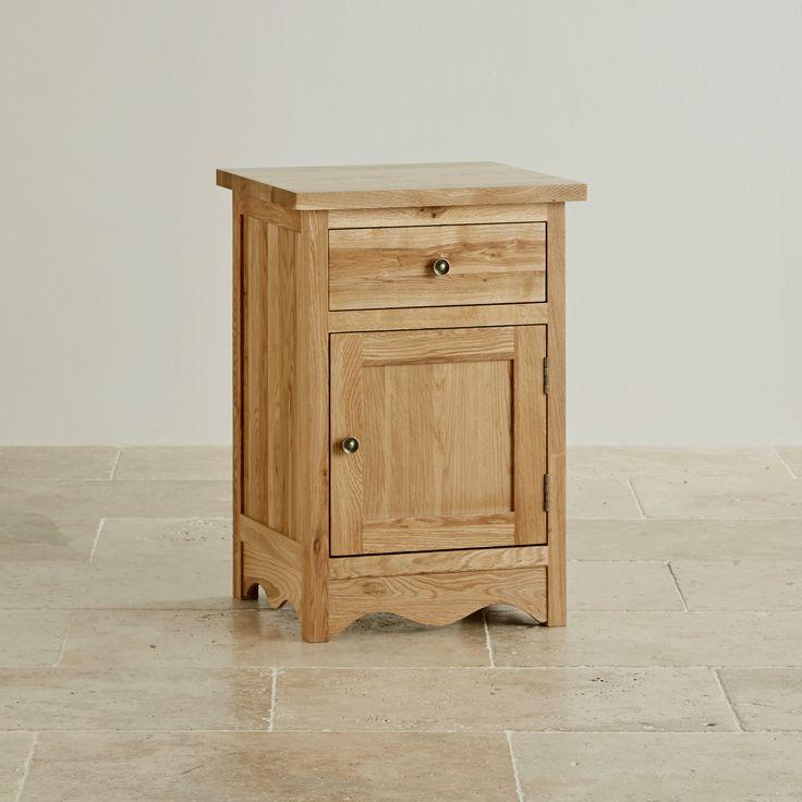 Cairo Solid Oak Large Bedside Cabinet from the Cairo Solid Oak range by Oak Furniture Land