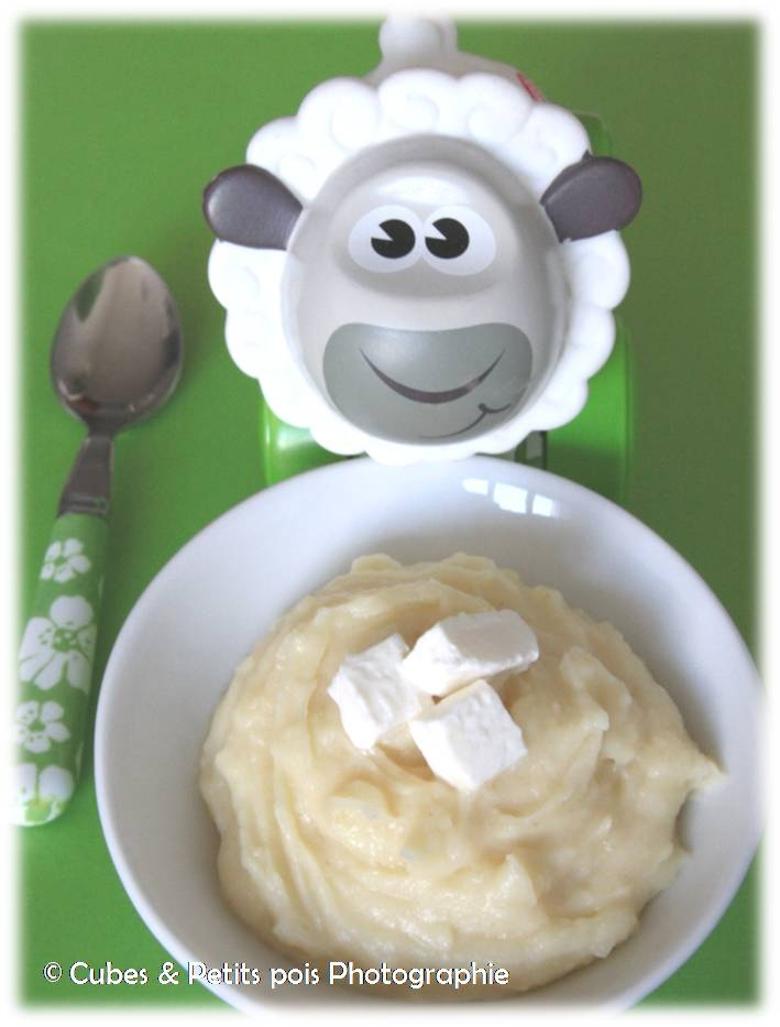 Mousse de panais au St Morêt, recette pour bébé (Dès 8 mois)