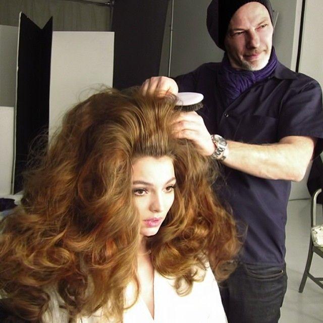 really big hair.  Love it!