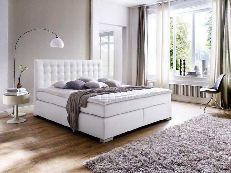 25 besten Boxpringbetten Bilder auf Pinterest Möbel discount - schlafzimmer creme braun schwarz grau