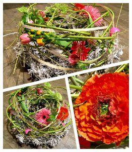 Het is al weer maart en dat betekent dat de Pasen en het voorjaar voor de deur staat. Tijd om het huis lekker op te frissen en een mooi bloemstuk op tafel te zetten! Dit kunt u helemaal zelf maken tijdens onze Paas / voorjaars workshop. Hieronder hebben we collages van twee voorbeelden toegevoegd. Jullie …