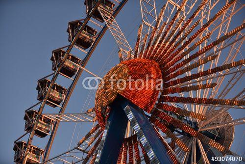 Attraktionen des Oktoberfest in München