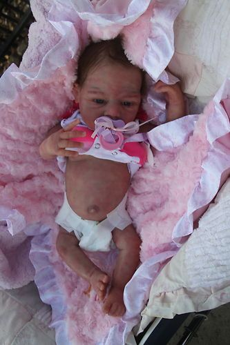 Solid silicone  full body baby Jenesys anatomically correct girl