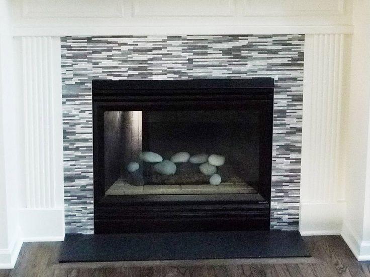 Aluminum Mosaic Tile-Grey Blends Thin Lines Aluminum Mosaic Tile